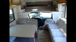 winnebago floor plans class c 1996 winnebago rv motorhome minnie winnie 29ft class c youtube