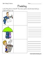 predicting worksheet worksheets making predictions and homework