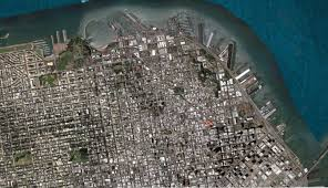 San Francisco Chinatown Map by San Francisco Satellite Map Michigan Map