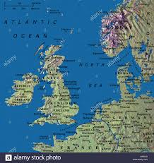 Map England by Map Maps United Kingdom England Ireland Norway Denmark Germany