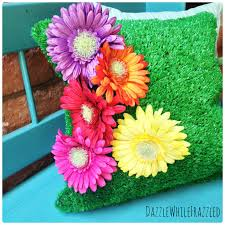 astroturf how to make an astro turf outdoor pillow