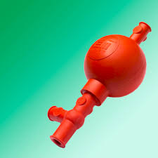 Top Propipeta de goma roja Universal para pipetas hasta 100 ml  #HL47