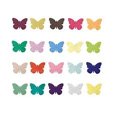 seed paper favors plantable seed paper butterfly party wedding favors