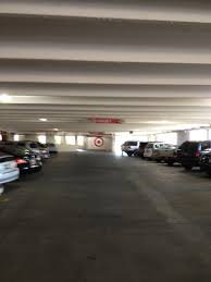 queue master space talk make a hard left into the parking garage from 3rd street and this is how you get to the 3rd floor where target is