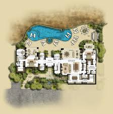 Spanish House Plans With Courtyard U Shaped House Plans On Home With Unique Floor Plan Pool In Middle