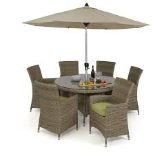 discount dining chairs maze rattan milan 6 seat dining set with dining chairs maze living