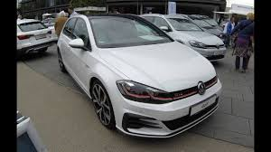 white volkswagen gti vw golf 7 gti facelift new model 2017 walkaround interior