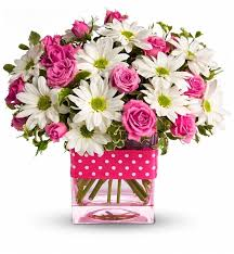 birthday flowers cheer up bouquet flower bouquets a happy blend of white