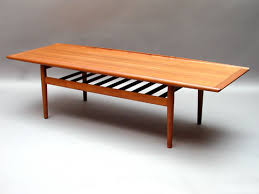 Teak Coffee Table Home Design Charming Teak Coffee Table Large 1960s 4 Home
