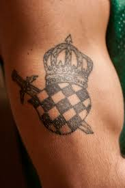 tattoo tuesday croatian coat of arms the daily orange the