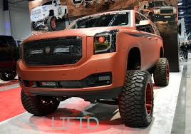 lifted gmc sema 2015 lift u0027d trucks u0027 overall coverage u2013 lift u0027d trucks