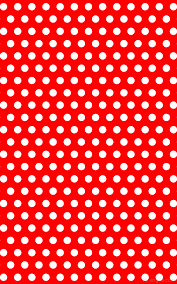 wallpaper red polka dots hexagon white ff0000 ffffff 0 37px