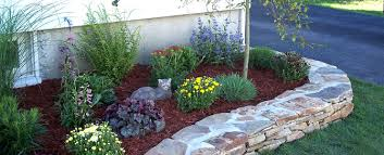 Rock Garden Beds Okotoks Landscaping Commercial Residential Acreage Okotoks