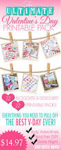 the ultimate valentine u0027s day printable pack plus a coordinating