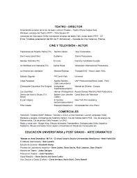 Metro Pcs Resume Actor U0027s Resume