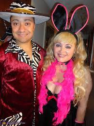 Female Pimp Halloween Costume Bunny Pimp Couples Halloween Costume