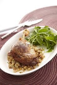 duck in cuisine duck confit with yellow beans ส ตรอาหาร tops markets