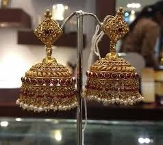 bengali earrings jhumka jhimiki or jimikki is an indian earrings