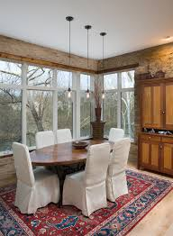 Display Cabinet With Lighting Edison Pendant Light Dining Room Rustic With Chandelier Dining