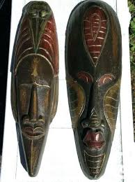 wall masks wall mask decor house decorating ideas with framed arts and rustic