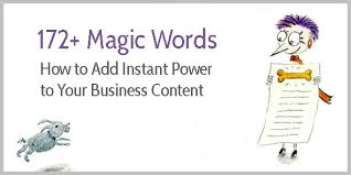power phrases for sales a list with 172 power words why they powercharge your content