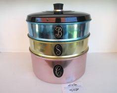 kitchen canister sets australia cool retro vintage anodised jason canister set matching