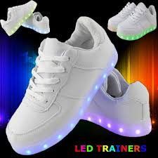 ladies light up shoes best buy womens ladies mens lace up sneakers luminous light up