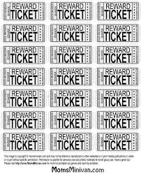 printable tickets free best 25 printable tickets ideas on