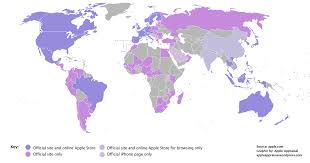 Spanish Speaking Countries Map Apple Mapped Countries With Official Apple Websites Stores And