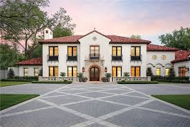 spanish style homes dallas spanish style homes for sale