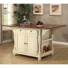 island kitchen cart coaster kitchen carts two tone kitchen island with drop leaves