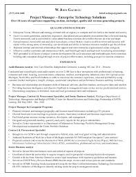 Sap Project Manager Resume What Makes A Good Objective On A Resume Good Behavior In