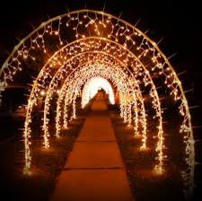 wedding arches with lights fairy light arch