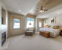 amazing master bedroom ideas with perfect chaise lounge chair for large space with stunning ceiling fan
