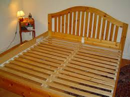 Wooden Bed Frame Parts Ikea Hack Turning A Bed Frame Into A Table Benches Momsicle