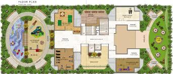 Podium Floor Plan by Paradise Sai Icon By Paradise Group In Kharghar Mumbai Price