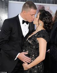 channing tatum insists he never oscars 2013 channing tatum s pregnant wife jenna dewan dons sexy