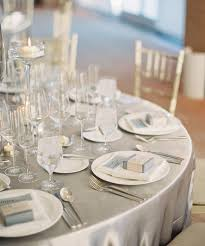 Wedding Table Linens Silver Wedding Theme Archives Weddings Romantique