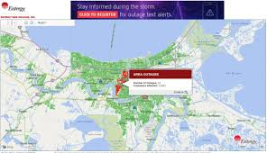 New Orleans Parish Map by Almost 14 000 Without Power Across New Orleans Wgno