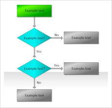 flow chart template flowchart doodles powerpoint template