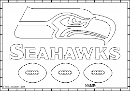Coloring Pages Seahawks Coloring