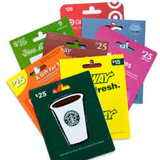 gift cards for kids stuffers for kids