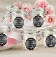 jar wedding favors rustic personalized glass jar wedding favors with eat drink be