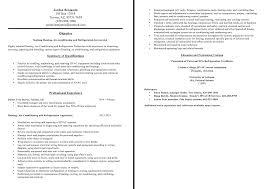 Hvac Technician Resume Examples 100 Hvac Resume Essay Writing Examples De Levensboom