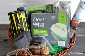 fathers day basket diy s day gift basket with dove men care savvy saving
