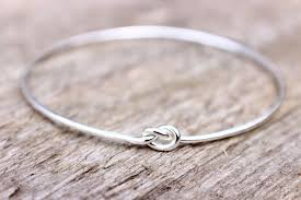 love knot bracelet images Sterling silver love knot bracelet bridesmaid jewelry set or jpg