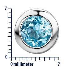 byjoy jewellery byjoy 925 sky blue topaz stud earrings timepiece watches