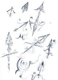 sagittarius zodiac sign sketch by elenoosh on deviantart