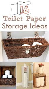 Bathroom Toilet Paper Storage 16 Practical And Creative Toilet Paper Storage Ideas