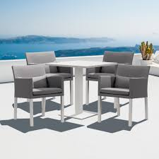 All Weather Wicker Patio Dining Sets - furniture fill your patio with outstanding portofino patio